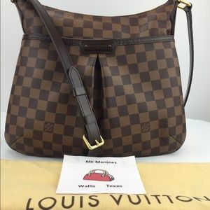 Louis Vuitton Bloomsbury PM crossbody Ebene